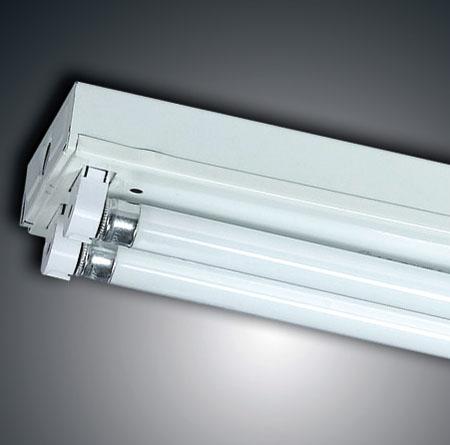 荧光灯支架t5普通单双管支架